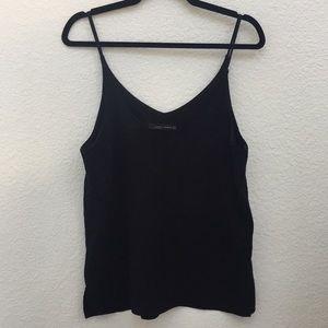 Zara Woman spaghetti strap work blouse ~Size Med